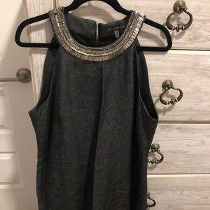 Dark Denim Dress